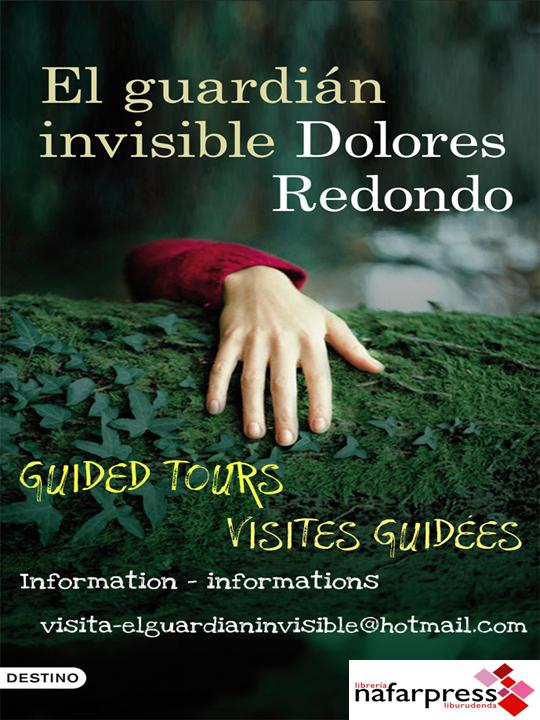 cartel ingles-frances el guardian invisible dolores redondo